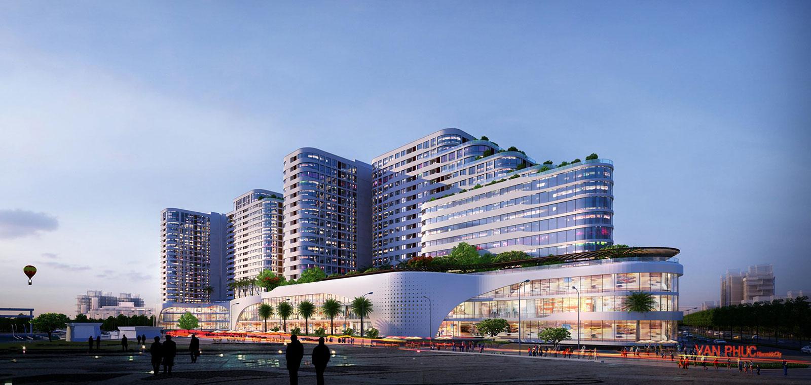 Trung tâm Thương mại khu đô thị Vạn Phúc